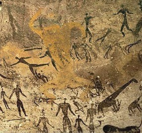 Animal influences in paleolithic egyptian and greek art